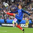 Antoine Griezmann - France - Roumanie au Stade de France. Le 10 juin 2016.