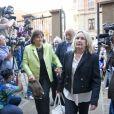 Barry et June Steenkamp, les parents of Reeva Steenkamp - Procès d'Oscar Pistorius à Pretoria en Afrique du Sud le 11 septembre 2014.