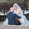 Mariage de Erika Christensen (série 'Parenthood') et de Cole Maness à Palm Springs, le 5 septembre 2015