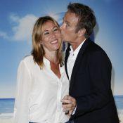 Franck Dubosc et Mathilde Seigner câlins devant David Brécourt amoureux