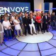 """""""Envoyé Spécial"""" : Toute l'équipe réunie pour les adieux de Françoise Joly et Guilaine Chenu, jeudi 23 juin 2016, sur France 2"""