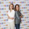 GUILAINE CHENU, FRANCOISE JOLY - CONFERENCE DE PRESSE DE RENTREE DE FRANCE TELEVISIONS LE 28 AOUT 2012 A PARIS