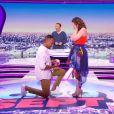 Charlotte Namura demandée en mariage par Jean-Luc de la Star Ac 5, le 24 juin 2016 dans 5 à 7 sur TF1.