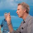 """Denis Brogniart fait d'importantes révélations sur la prochaine édition de """"Koh-Lanta"""" sur TF1. Emission """"Le Tube"""" sur Canal+. Le 25 juin 2016."""