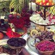 Une fête marocaine à Los Angeles pour les 73 ans de Johnny Hallyday organisée par Laeticia Hallyday, juin 2016.