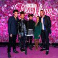 "Jada Pinkett Smith, Will Smith, Willow Smith, Jaden Smith et Trey Smith assistent à l'émission ""Dear Mama"" de VH1 à New York. Le 3 mai 2016."