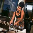 """Exclusif - La DJ Anaïs Bau dîner au profit de l'association """"L'empire des enfants"""" à Paris. Le 28 juin 2016 © Cyril Moreau / Bestimage"""