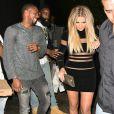 Khloe Kardashain et son présumé compagnon James Harden - Kylie Jenner fête ses 18 ans avec sa famille et ses amis à West Hollywood, le 9 août 2015.