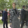 Céline Dion-Défilé Giambattista Valli (collection haute couture automne-hiver 2016-2017)au Grand Palais. Paris, le 4 juillet 2016.