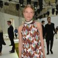 Mélanie Thierry-Défilé Giambattista Valli (collection haute couture automne-hiver 2016-2017)au Grand Palais. Paris, le 4 juillet 2016.