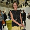 Adriana Abascal-Défilé Giambattista Valli (collection haute couture automne-hiver 2016-2017)au Grand Palais. Paris, le 4 juillet 2016.