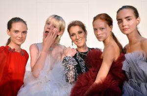 Fashion Week : Céline Dion poursuit son marathon chez Giambattista Valli
