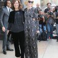 Roberta Armani et Cate Blanchett - Défilé Giorgio Armani Privé (collection Haute Couture automne-hiver 2016/17) au Palais de Chaillot à Paris, France, le 5 juillet 2016. © CVS-Veeren/Bestimage