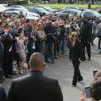 Isabelle Huppert -Défilé Giorgio Armani Privé (collectionHaute Couture automne-hiver 2016/17)au Palais de Chaillot à Paris, France, le 5 juillet 2016. © CVS-Veeren/Bestimage