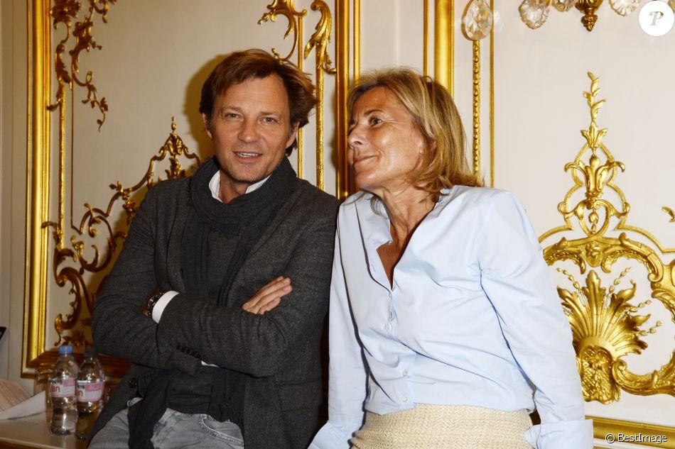 Laurent delahousse et claire chazal la conf rence de presse de la flamme ma - La maison de claire paris ...