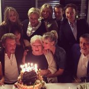 Line Renaud, 88 ans : Vanessa Paradis, Macron et le couple Hallyday à ses côtés