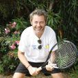 """Jérôme Anthony - People à la journée de l'association """"Enfant Star & Match"""" au Tennis de la Roseraie à Antibes le 8 juillet 2016."""