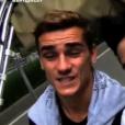 """Antoine Griezmann et ses proches s'expriment dans """"Sept à Huit"""" sur TF1. Le 10 juillet 2016."""