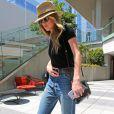Amber Heard, qui a beaucoup maigri, se rend dans des bureaux à Los Angeles, le 16 juin 2016.