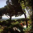 Laura Smet se réveille à Saint-Tropez et poste cette superbe photo sur Instagram, fin juin-début 2016.
