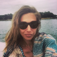 Laura Smet au Cap-Ferret en Gironde, juillet 2016.