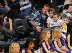 REPORTAGE PHOTOS : Même entouré de ses garçons, David Beckham n'a jamais ...l'oeil dans sa poche !
