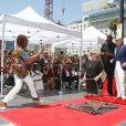 Pitbull (Armando Christian Perez), Tony Robbins, Lil Jon, Luther Campbell -Pitbull (Armando Christian Perez) inaugure son étoile sur le Walk Of Fame à Hollywood. Los Angeles, le 15 juillet 2016.