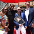 Pitbull (Armando Christian Perez), Lil Jon, Luther Campbell et Tony Robbins -Pitbull (Armando Christian Perez) inaugure son étoile sur le Walk Of Fame à Hollywood. Los Angeles, le 15 juillet 2016.
