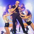 Pitbull en concert à East Hampton. Août 2015.
