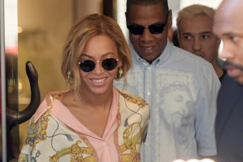 Beyoncé et Jay Z : Émeute pour le couple en shopping à Milan
