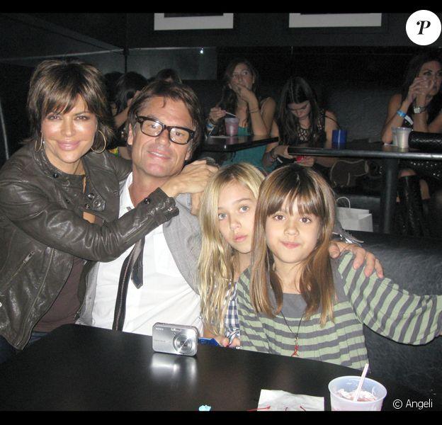 Lisa Rinna, son mari Harry Hamlin et leurs filles Delilah-Belle et Amelia-Gray