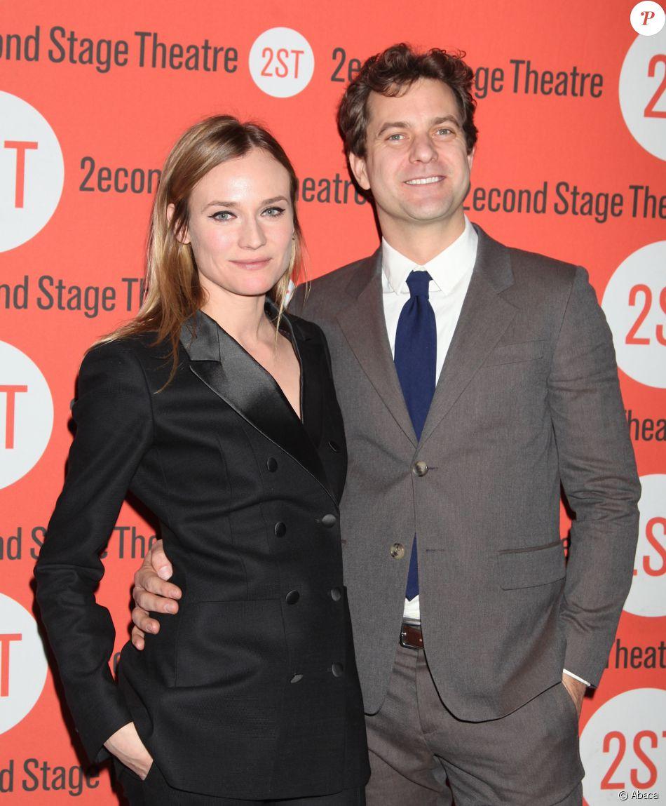 """Diane Kruger et Joshua Jackson à la première de la pièce """"Smart People"""" à New York le 11 février 2016"""