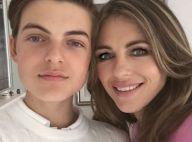 Elizabeth Hurley : Son fils Damian, 14 ans, se lance à la télévision