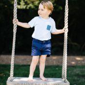 George de Cambridge a 3 ans : Quatre nouvelles photos, dans le jardin familial