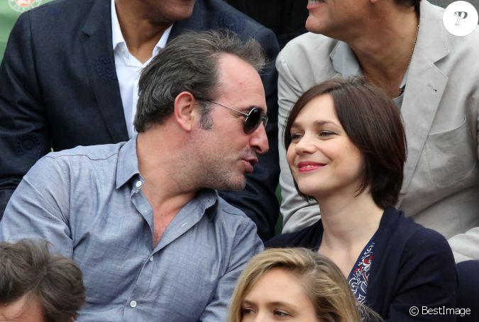 Jean dujardin et sa compagne nathalie p chalat dans les for Jean dujardin separation