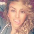 Samantha, l'ex-compagne d'Anthony Martial. Juillet 2016.