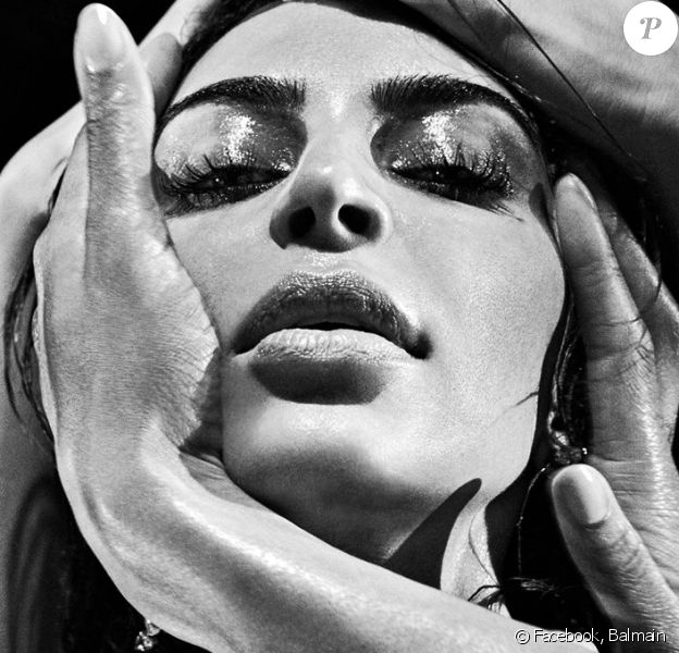 Kim Kardashian - Campagne Balmain, automne-hiver 2016. Photo par Steven Klein.