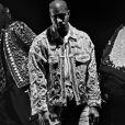 Kanye West - Campagne Balmain, automne-hiver 2016. Photo par Steven Klein.