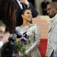 Kim Kardashian et son mari Kanye West - Met Gala 2016 au Metropolitan Museum of Art à New York, le 2 mai 2016. © Future-Image via ZUMA Wire/Bestimage