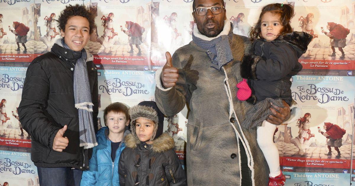 Lucien jean baptiste et ses enfants paris le 24 novembre for Jean dujardin et ses enfants