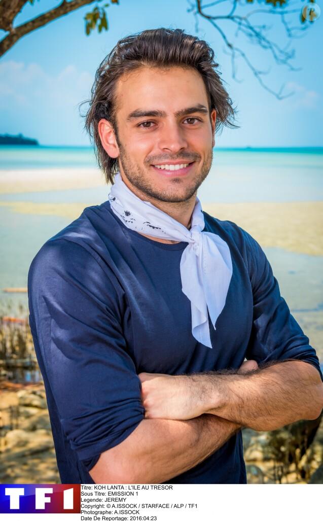 """Jérémy, candidat de """"Koh Lanta : L'île au trésor""""."""