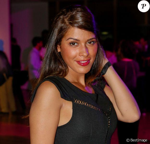 """Ayem Nour - Soirée du concours """"Orange Jeunes Designers"""" au Carreau du Temple à Paris, le 4 juin 2015."""