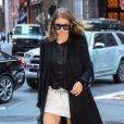 Gigi Hadid se rend à un dîner à New York le 17 juin 2016.