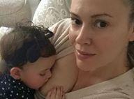 Alyssa Milano dévoile plusieurs photos d'elle en train d'allaiter ses enfants