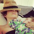 L'actrice Alyssa Milano a dévoilé cette photo sur son compte Instagram.
