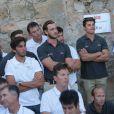 Pierre Casiraghi a reçu le trophée dans la catégorie propriétaire-armateur lors de la cérémonie de clôture de la 35e Copa del Rey MAPFRE, le 6 août 2016 à Palma de Majorque, dont il s'est classé 4e avec Malizia dans la catégorie GC32.