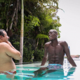 Paul Pogba lors de ses vacances aux Etats-Unis, été 2016, photo Instagram.