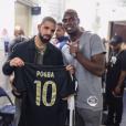Paul Pogba avec Drake lors de ses vacances aux Etats-Unis, été 2016, photo Instagram.