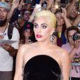 Lady Gaga arrive à la soirée des 90 ans de Tony Bennett au Rainbow Room à New York, le 3 août 2016.