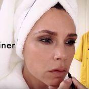 Victoria Beckham : Leçon de make-up en 5 minutes chrono ? Elle relève le défi !
